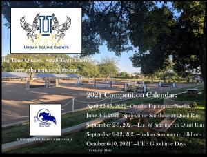UEE 2021 Calendar Flyer